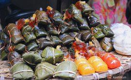 5 khu chợ ăn vặt nức tiếng Hà Thành