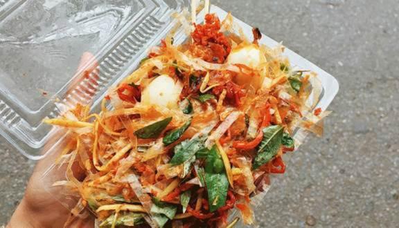 Tổng hợp những món ăn vặt gây thương nhớ ở Sài Thành (bánh tráng trộn)