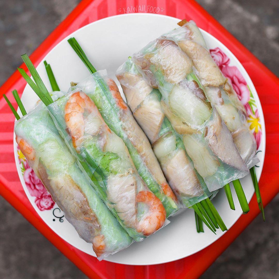 Tổng hợp những món ăn vặt gây thương nhớ ở Sài Thành (gỏi cuốn)
