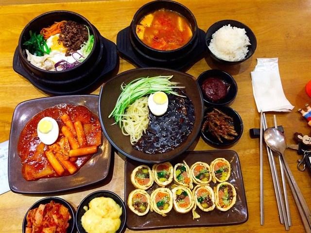 """Những quán ăn vặt ngon """"zách số"""" ngay trung tâm quận 10 (Hancook Korean Food)"""
