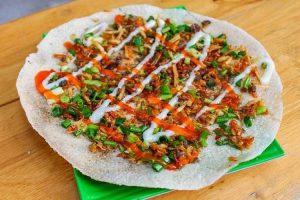 Top 10 món ăn không ngừng hot trong năm 2019 (bánh tráng nướng)