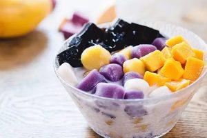 Top 10 món ăn không ngừng hot trong năm 2019 (chè khoai lang dẻo)