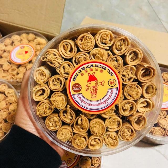 Những đồ ăn vặt Thái Lan phải thử 1 lần trong đời (bánh cuộn chà bông heo)