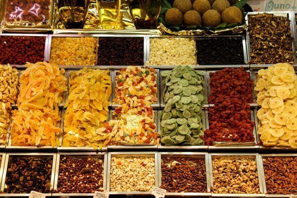 Những đồ ăn vặt Thái Lan phải thử 1 lần trong đời (mứt, trái cây khấy khô)