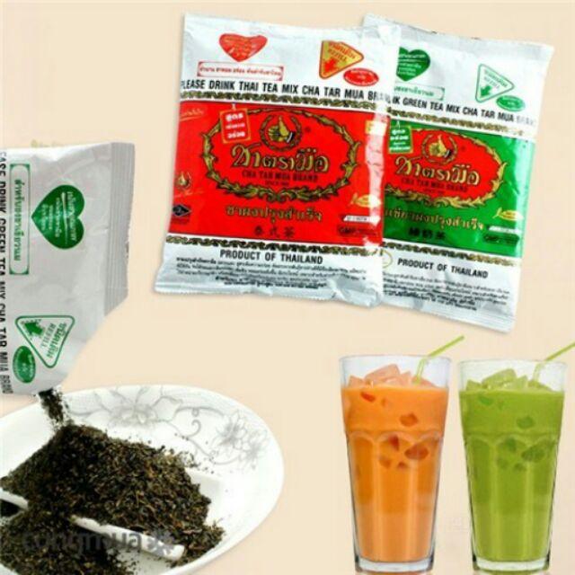 Những đồ ăn vặt Thái Lan phải thử 1 lần trong đời (trà sữa Thái Lan)
