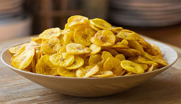 Thiên biến vạn hóa 10 món ăn vặt siêu ngon từ ... chuối (snack chuối)