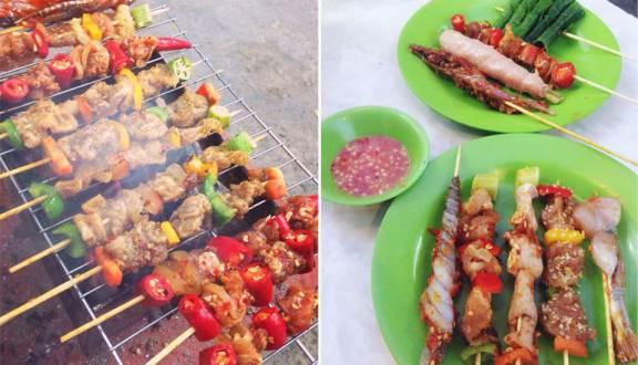 Truy lùng 10 quán ăn siêu ngon ở Nha Trang được người địa phương chấm điểm (xiên que Tok Tok)