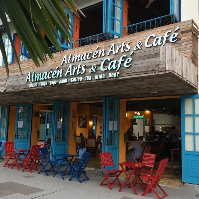 Quán nước đẹp Almacen cafe