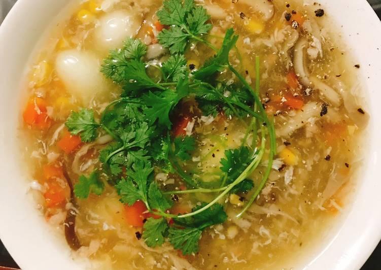 Địa điểm ăn vặt không thể ngon và rẻ hơn được ở quận 2(súp tôm)
