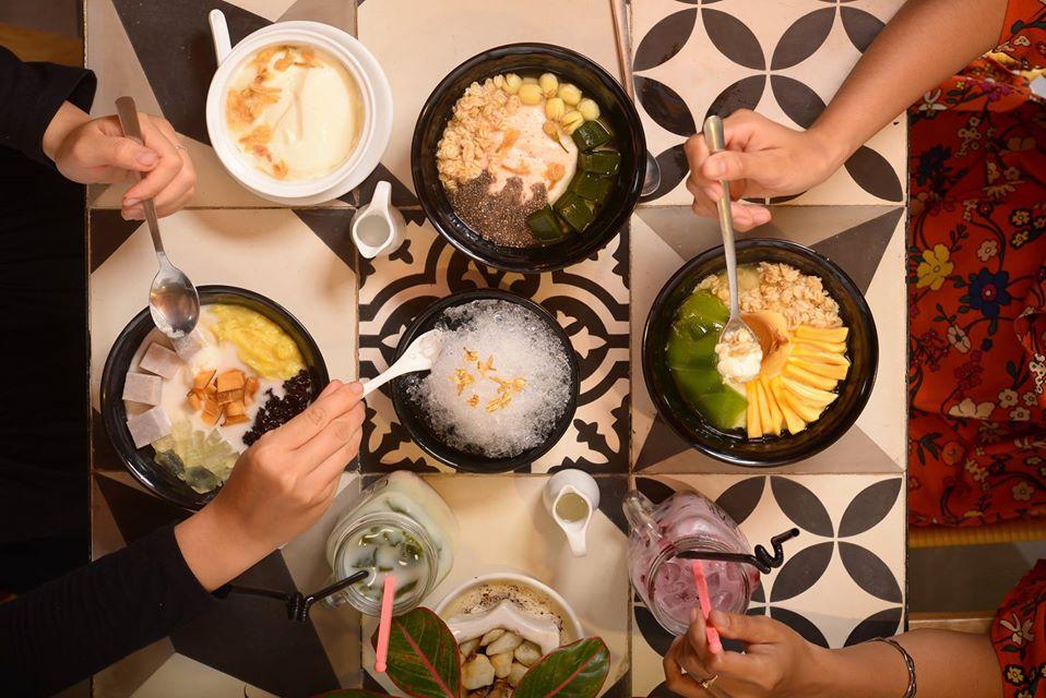 Điểm danh các địa điểm ăn uống Sài Gòn về đêm (Tàu hủ Orisoy)